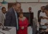 President Uhuru Kenyatta tours some of the exhibitors at the 3rd annual Nairobi Innovation Week in Kenya last year. (Photo Credit: NIW)