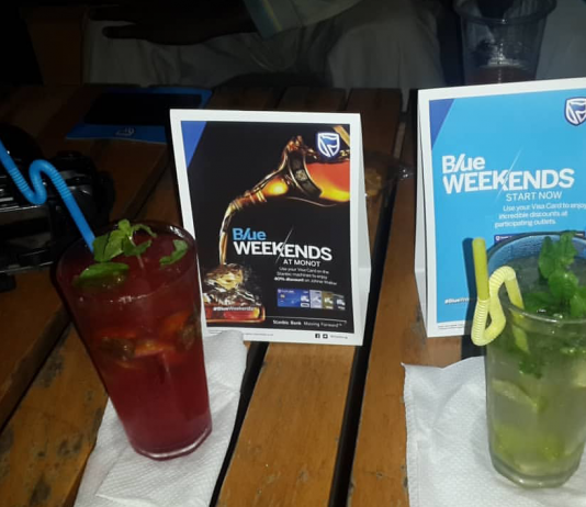 Stanbic Bank 'Blue Weekends' runs every last weekend of the every month throughout the year.