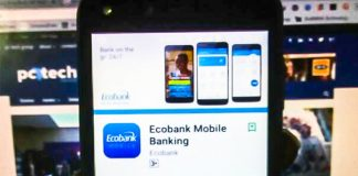 Ecobank Mobile Android App. (Photo Credit: Twitter @iam__one)