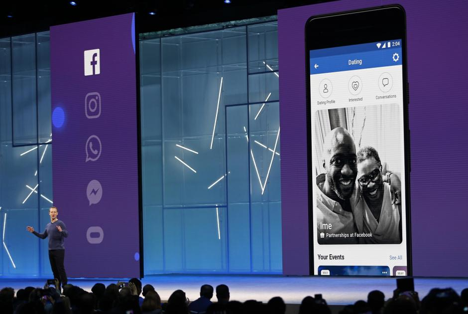 Facebook CEO Mark Zuckerberg speaks at Facebook Inc's annual F8 developers conference in San Jose.
