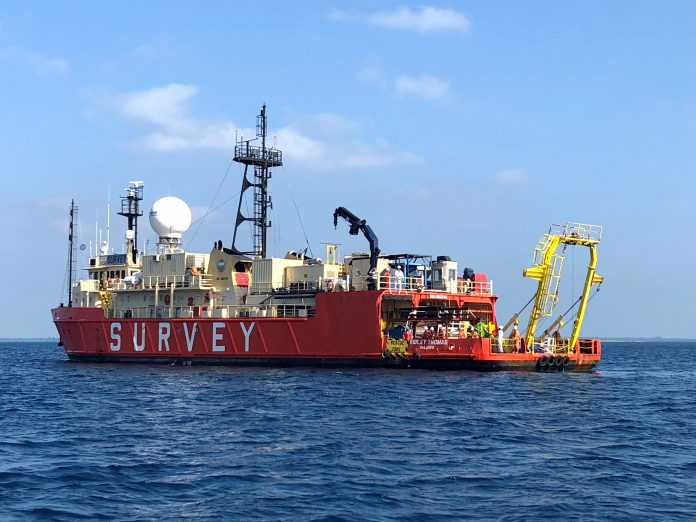 Huawei Marines' PEACE Project - Survey Vessel RV Ridley Thomas.