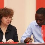 kLab and Finance Innovation sign MoU. (Photo Credit: Disrupt Africa)