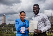 A 24-year-old Ugandan; Brian Gitta, software engineer has won the Africa Prize for Engineering Innovation, and becomes the first Ugandan to win the prestigious Africa Prize, and the youngest winner to date.