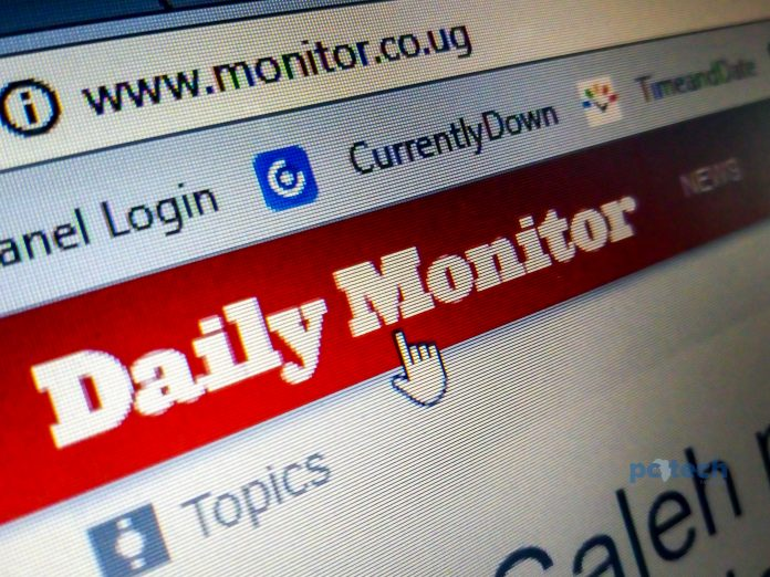 Daily Monitor Uganda (dailymonitor.co.ug) is the most visited website in Uganda with a Daily Pageviews per Visitor of 2.61.