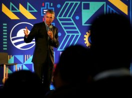 Former US President Barack Obama speaks during his town hall for the Obama Foundation at the African Leadership Academy in Johannesburg, South Africa, Wednesday, July 18, 2018. (AP Photo/Themba Hadebe, Pool)