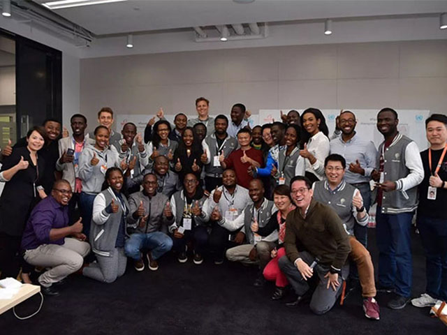 Over 200 entrepreneurs came from Africa hailing from 11 African countries; Rwanda, Kenya, Uganda, Nigeria, South Africa, Zambia, Egypt, Algeria, Chad, Cameroon, and Tunisia, will take part in the second cohort of the eFounders Fellowship Program. (Photo Courtesy: Opportunities For Africans)