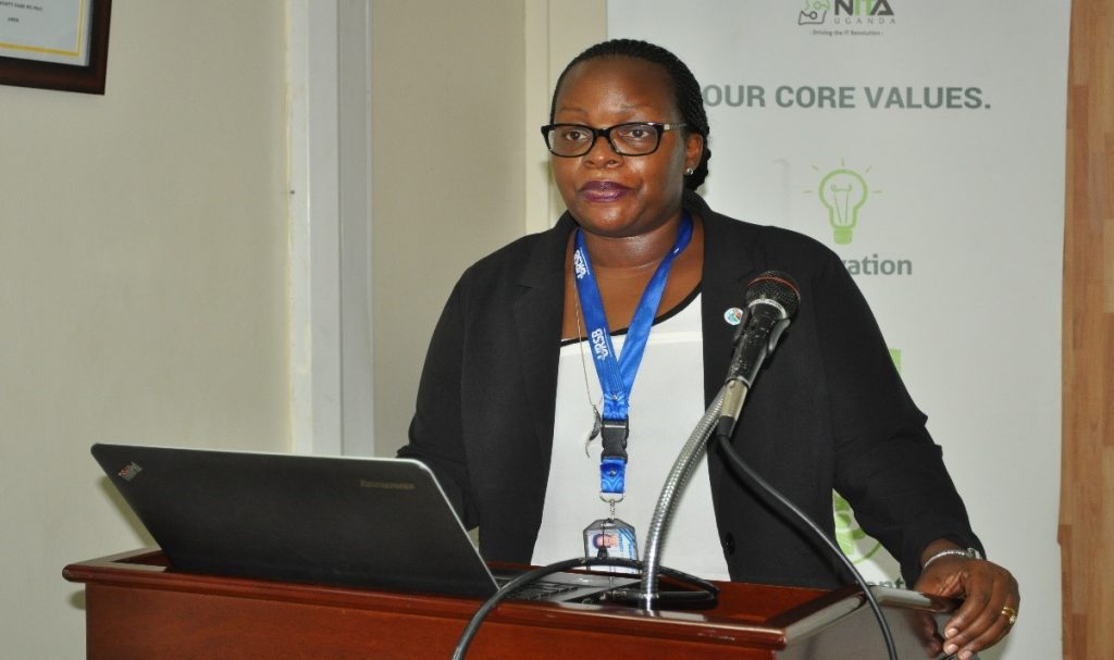 Mercy Kainobwisho, Director Intellectual property at URSB.