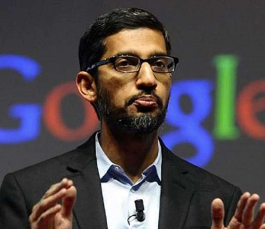 Google CEO Sundar Pichai. (Photo Courtesy)