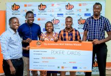 Poker Cards is one of the teams selected to benefit from a UGX144 million (roughly USD$38,608) startup fund from the United Nations Population Fund (UNFPA) to help them kick-start their social business.
