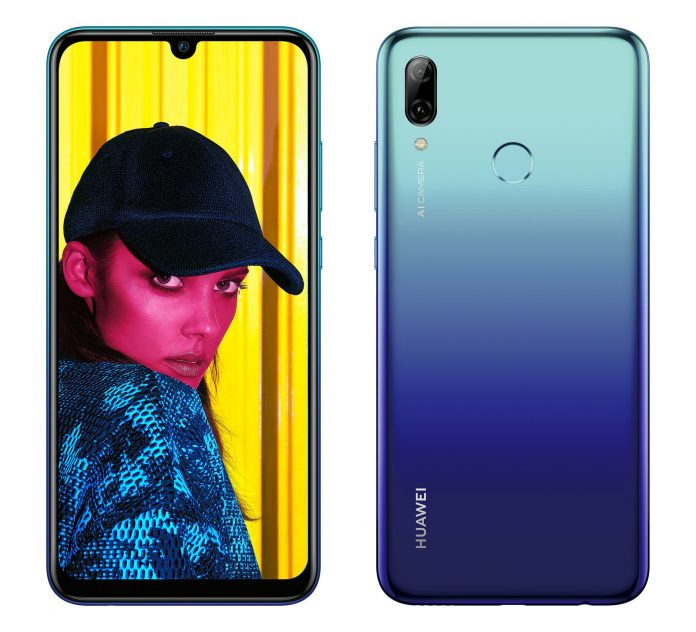 Huawei P Smart (2019) will be available in select markets stating in Europe. (Image Courtesy)