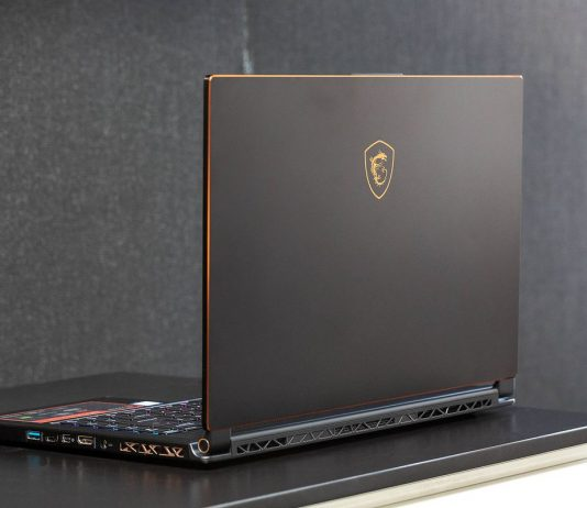The MSI GS65 Stealth crams an Nvidia VR-ready GeForce 1070 GPU Max-Q in a slim chassis. (Photo Courtesy: The Verge)