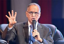Indian IT industrialist and the Co-Founder of Infosys; N. R. Narayana Murthy. (Photo Credit: Internet)