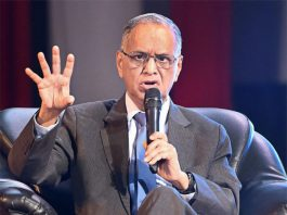 Indian IT industrialist and the Co-Founder of Infosys;N. R. Narayana Murthy. (Photo Credit: Internet)