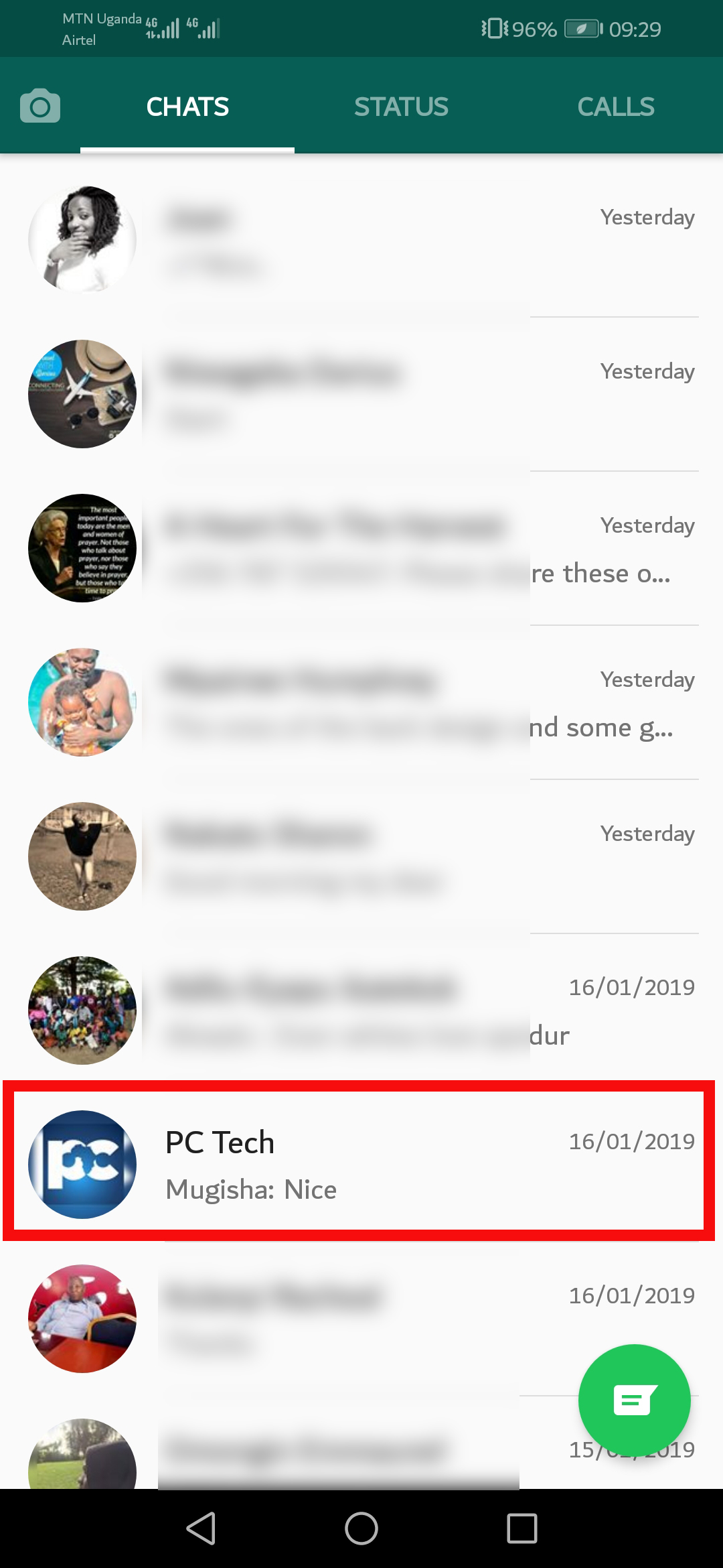 how to set up group chat on android facebook