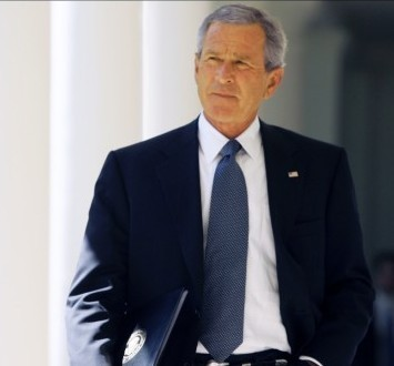 Former President Bush is the author the book, Decision Points