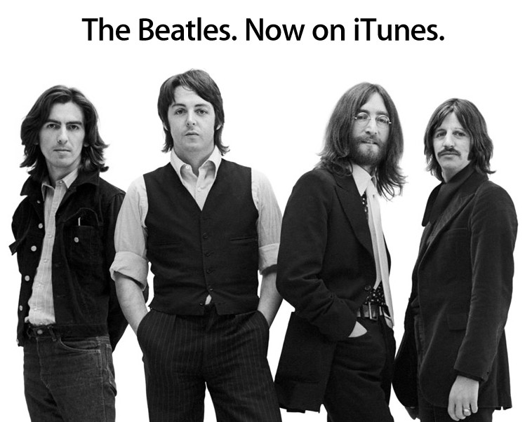 Apple's Build up to The Beatles' music on iTunes lead to immense speculation