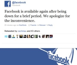 Photo of Facebook Goes Down Amid Rollout of New Brand Pages