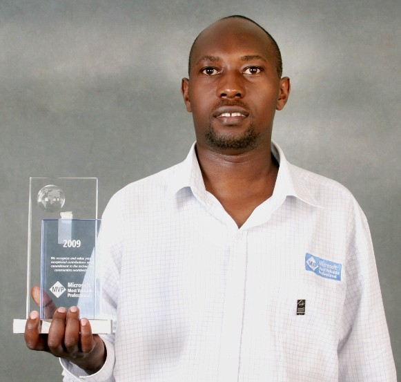 Wilson Kutegeka first received the MVP Award in 2008