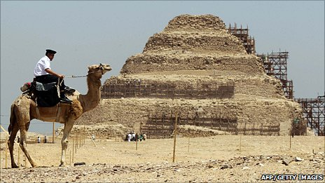 Two new finds are at Saqqara, an older but less known pyramid site than Giza