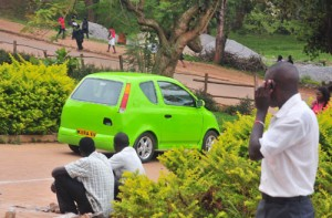 The Kiira EV car that does not use fuel