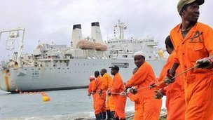 Photo of East Africa's Reduced Internet Speed Caused by Ship's Anchor at Mombasa