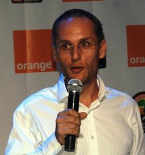 Orange Uganda Chief Strategy Officer Edouard Blondeau [File Photo]