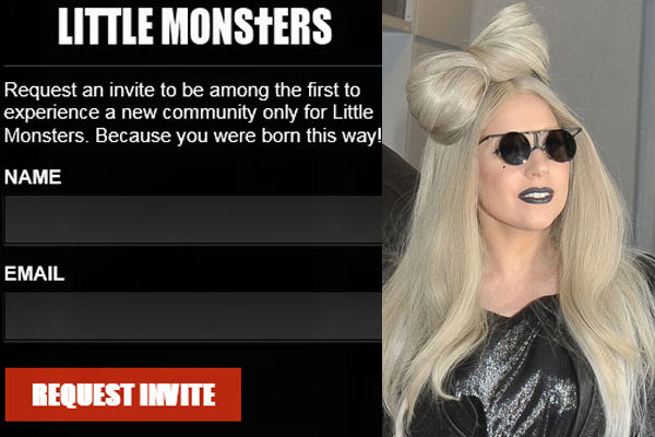 Photo of Little Monsters: Lady Gaga's social network now opens to the public