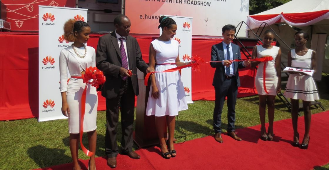 Photo of Huawei officially launches the IT & data center road show 2015 in Kampala