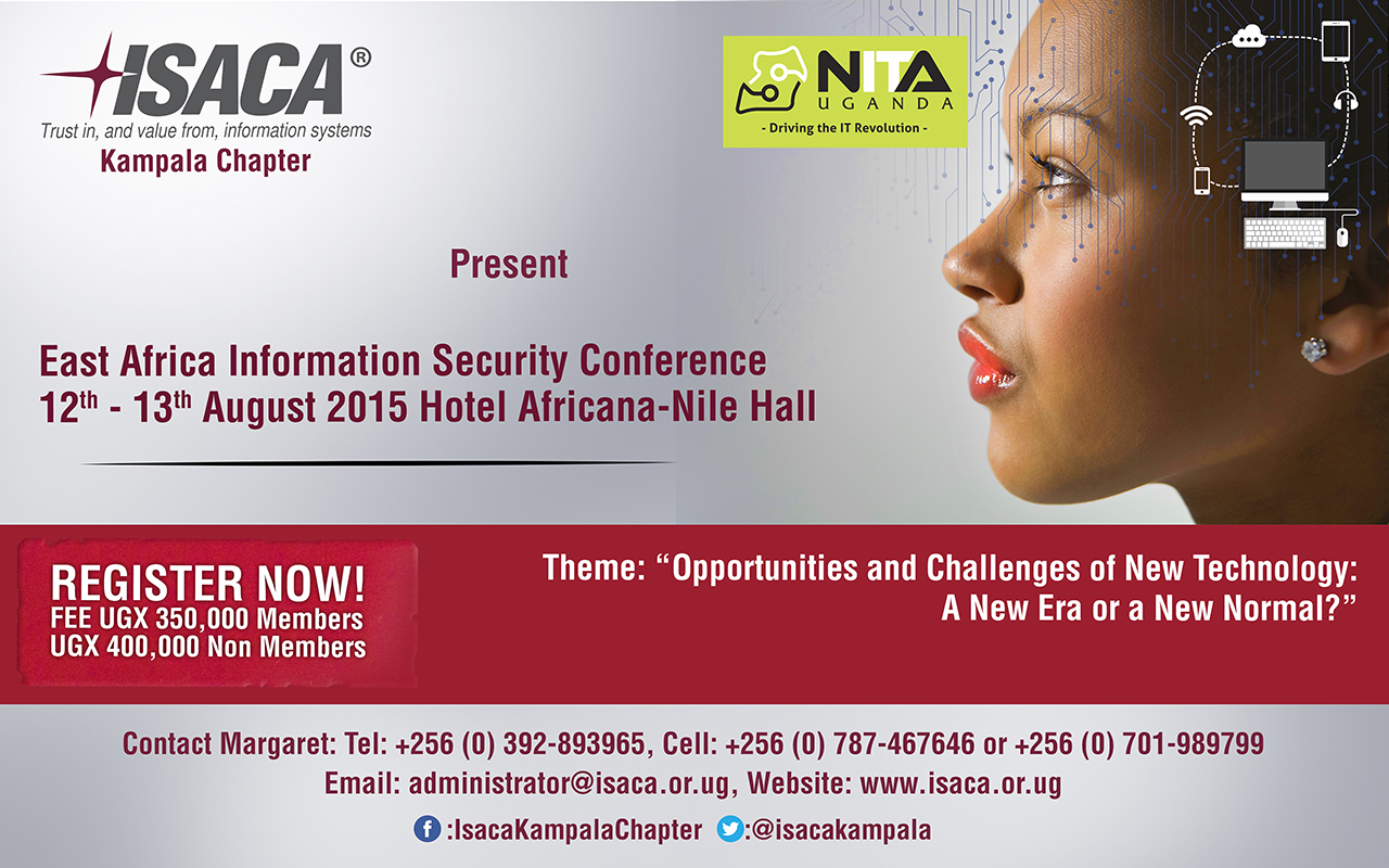 Photo of Invitation: East Africa Information Security Conference 2015