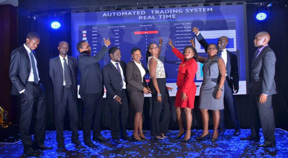 The team at Uganda Securities Exhange