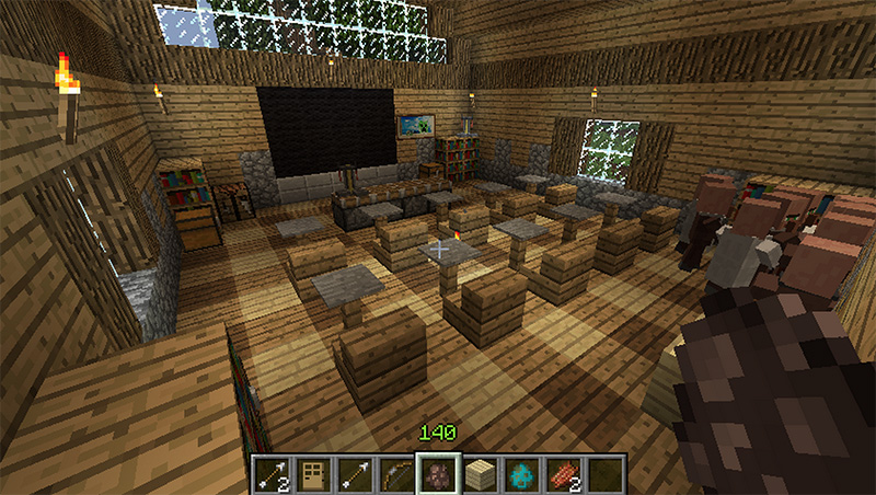 Modern Classroom Game : Minecraft in the classroom video games and future of