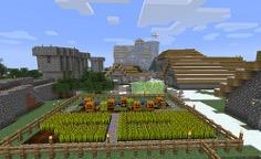 Village In Minecraft. Credit: Flickr.com