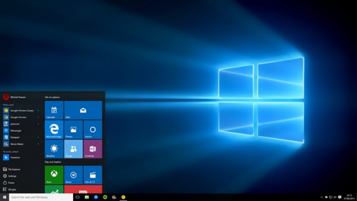 Consider making an upgrade to windows 10 to run your business. Image Credit: GoliveUk
