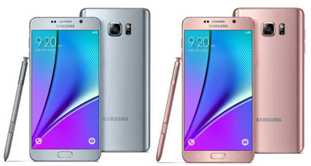 The Galaxy Note will be available in 2 new colors, starting in South Korea. Image Credit: TalkAndroid