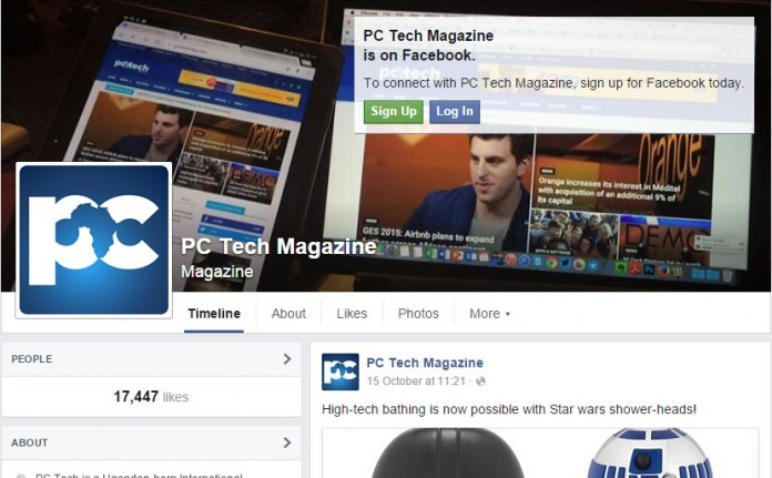 The feature shows up next to the 'Like' button, where you see it if you own a Page for a company, brand or personality.