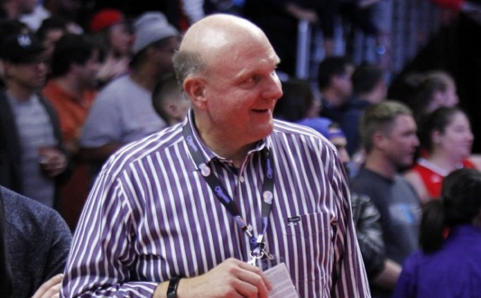 Steve Ballmer bought the Los Angeles Clippers basketball team after retiring as Microsoft CEO. Image Credit: TRBImg