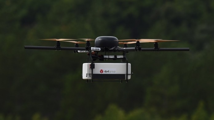 Walmart announced its own plans to enter the quadcopter package-delivering fray. Image Credit: MarketWatch
