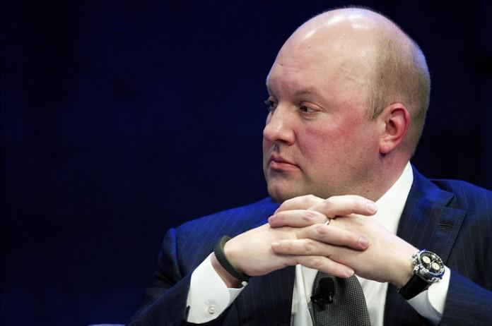 Facebook director Marc Andreessen. Image Credit: Bloomberg