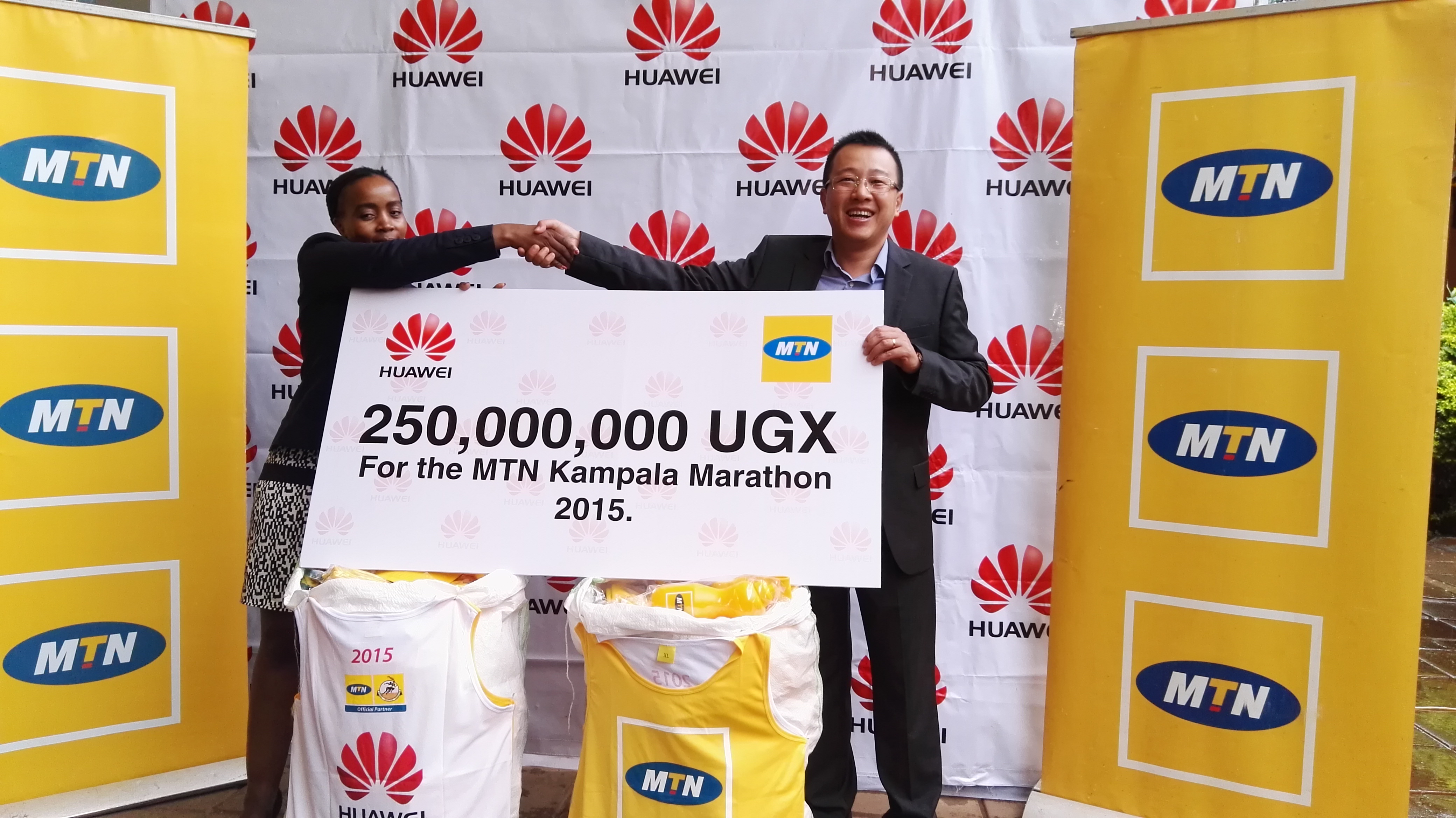 Photo of Huawei Offers 250,000,000 UGX for the 2015 MTN Kampala Marathon