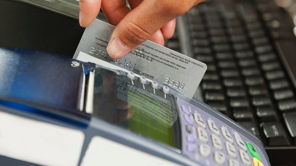 You are letting your debit card leave your sight while the server takes it away to be swiped is a big risk of using it at a restaurant. Image Credit: ABC News