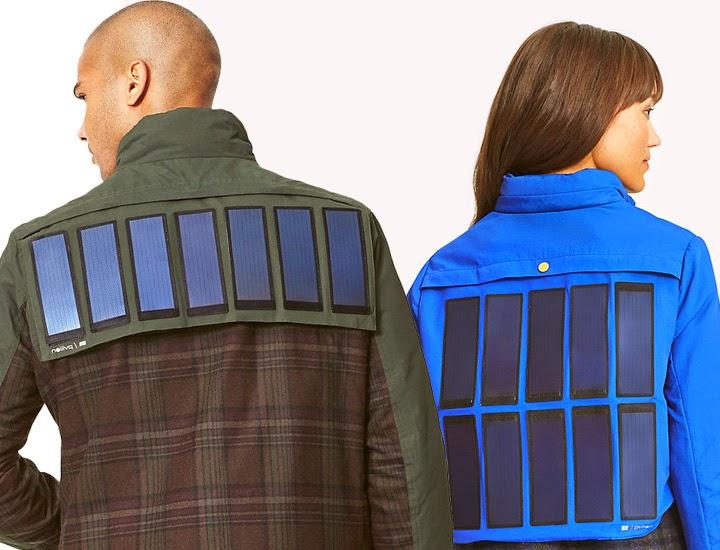 Tommy Hilfiger Solar Charging Jackets. Image Credit: Tommy