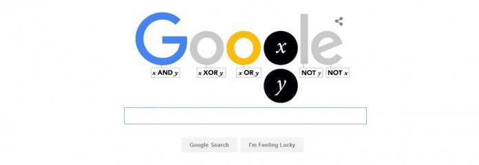 Google is today celebrating George Boole 200th birthday.