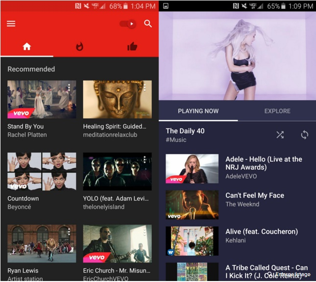 The difference between YouTube and YouTube Music apps - PC Tech Magazine