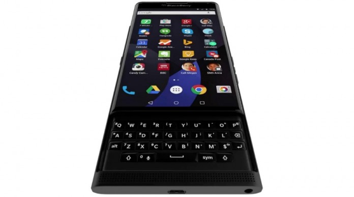 """The BlackBerry """"Priv""""—named for its emphasis on privacy—runs a full version of Google's Android operating system but features some of BlackBerry's highly respected security and productivity features. Image Credit: IBTimes"""