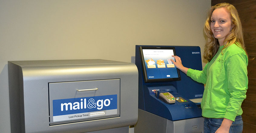 Swiping your debit card at a self-service kiosk to pay for things such as parking can be risky. Image Credit: Auburn