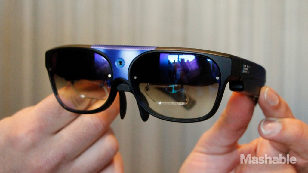 smart glasses that are enabled with Bluetooth technology.Image Credit: Mashable