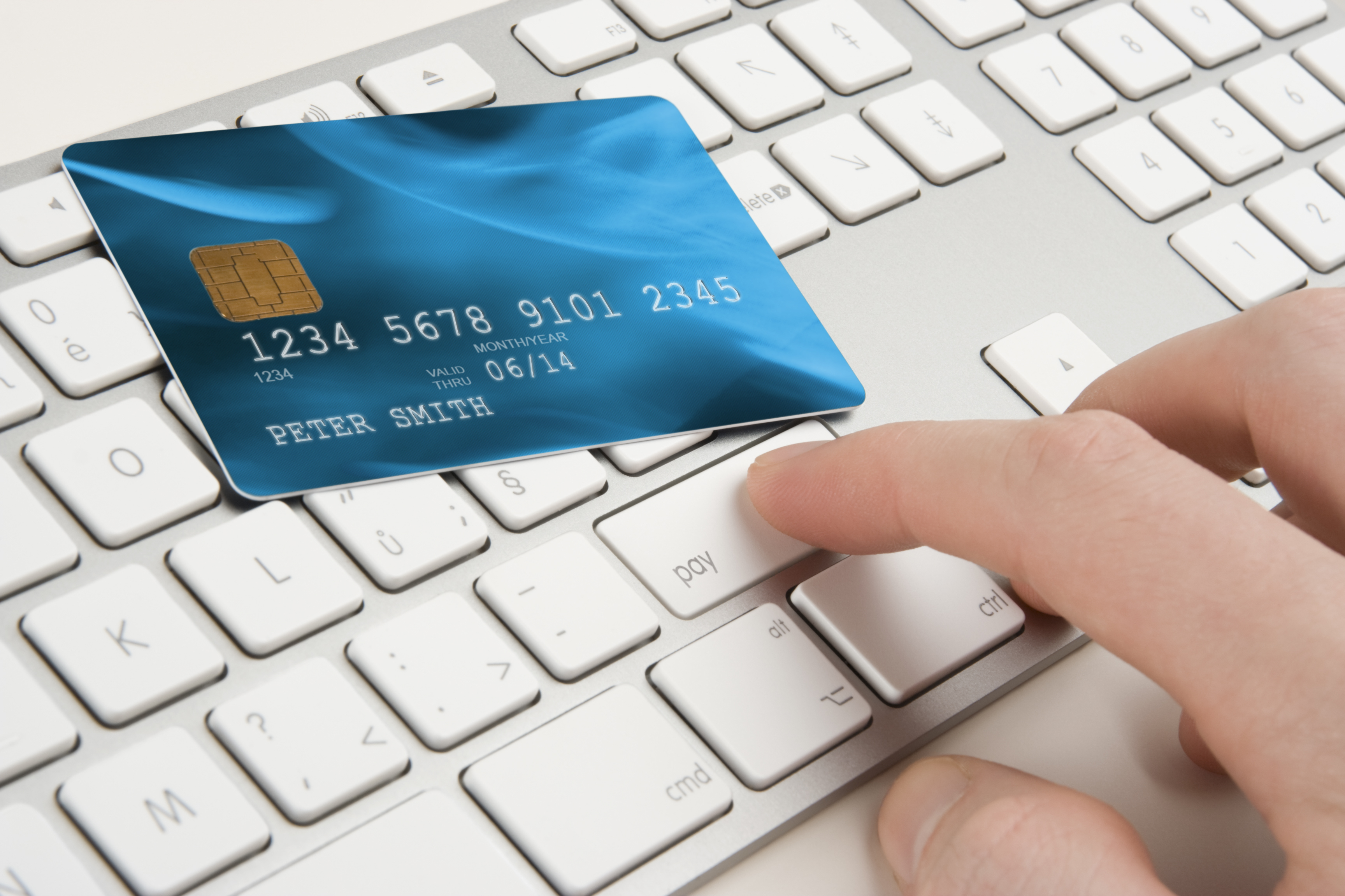 When purchasing online, there are high chances of having your card information stolen. Image Credit: CbsNewYork