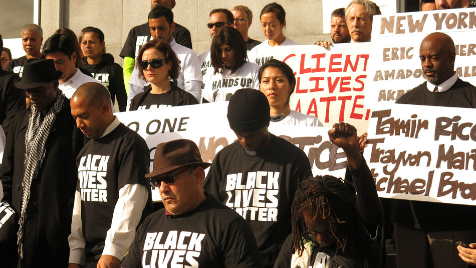 BlackLivesMatter now serves as a unifying message for communities . Image Credit: NationOfChange