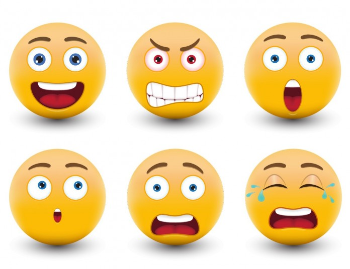 """Fast forward to today, 2015. Emoji are everywhere, and have greater meaning than ever. They've left their original home wedged in between """"LOL"""" and """"omg"""" or simply floating alone in a text bubble. Image Credit: DesignPrintDigital"""