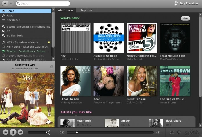Spotify is going to introduce the restricted service as a test. Image Credit: GawkerAssets